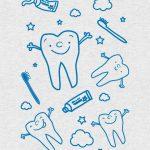 Αυτοκόλλητο Τοίχου για Οδοντιατρείο