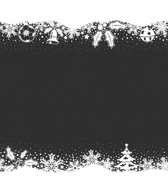 Χριστουγεννιάτικο Αυτοκόλλητο Μπορντούρα - Αυτοκόλλητα για Χριστουγεννιάτικες Βιτρίνες σε Καταστήματα