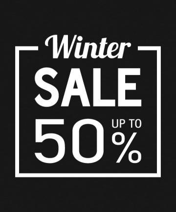 Χειμερινό Αυτοκόλλητο Εκπτώσεων Βιτρίνας - αυτοκολλητο εκπτωσεων για βιτρινα καταστηματος - Εκπτώσεις - Αυτοκόλλητα - Βιτρίνα - Καταστήματα