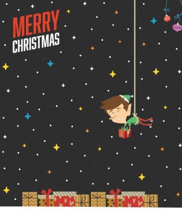 Μεγάλα Χριστουγεννιάτικα Αυτοκόλλητα - Χριστουγεννιάτικη Διακόσμηση βιτρινών καταστημάτων