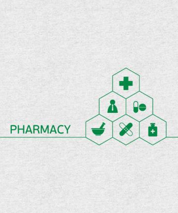 Αυτοκόλλητα Βιτρίνας για Φαρμακείο - Διακόσμηση Φαρμακείου